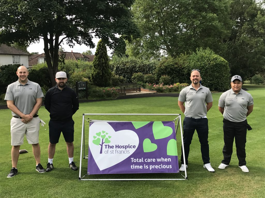 Cityscape Recruitment Golf Team Finishes Second At Charity