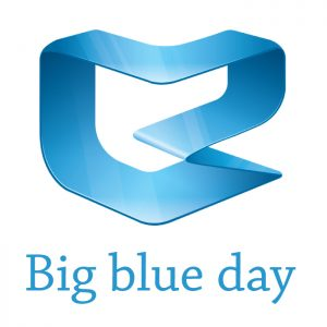 big blue day